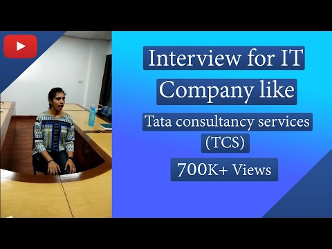 HR interview for  Software Engineer of TCS and Tech Mahindra (With Sub titles)