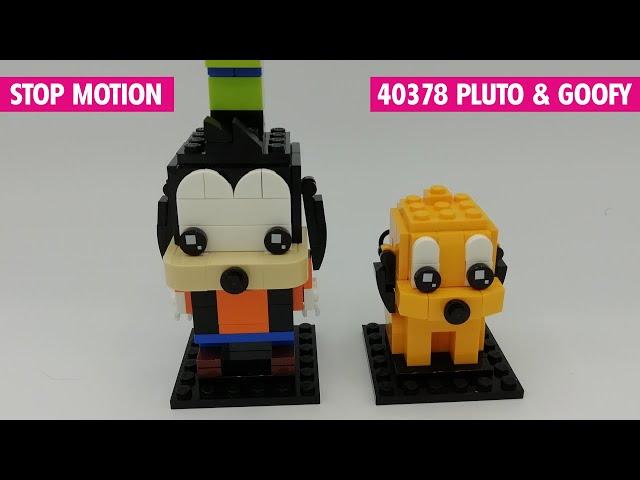Lego 40378 Pluto & Goofy | Stop Motion