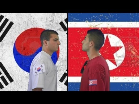North Korea vs. South Korea | Immortal Rap Battles Of ...