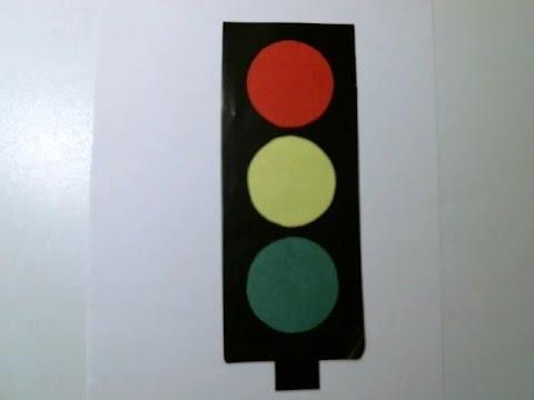 Как сделать светофор фото 350