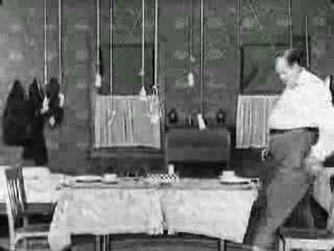 """Buster Keaton The Scarecrow (scene """"one-room house"""")"""