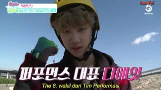 """[INDO SUB] SEVENTEEN - The Ranking Is Up To Me! Ep01 """"Personal  Mobility Best 5"""""""