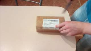 Распаковка  очков с бамбуковой оправой с  Aliexpress