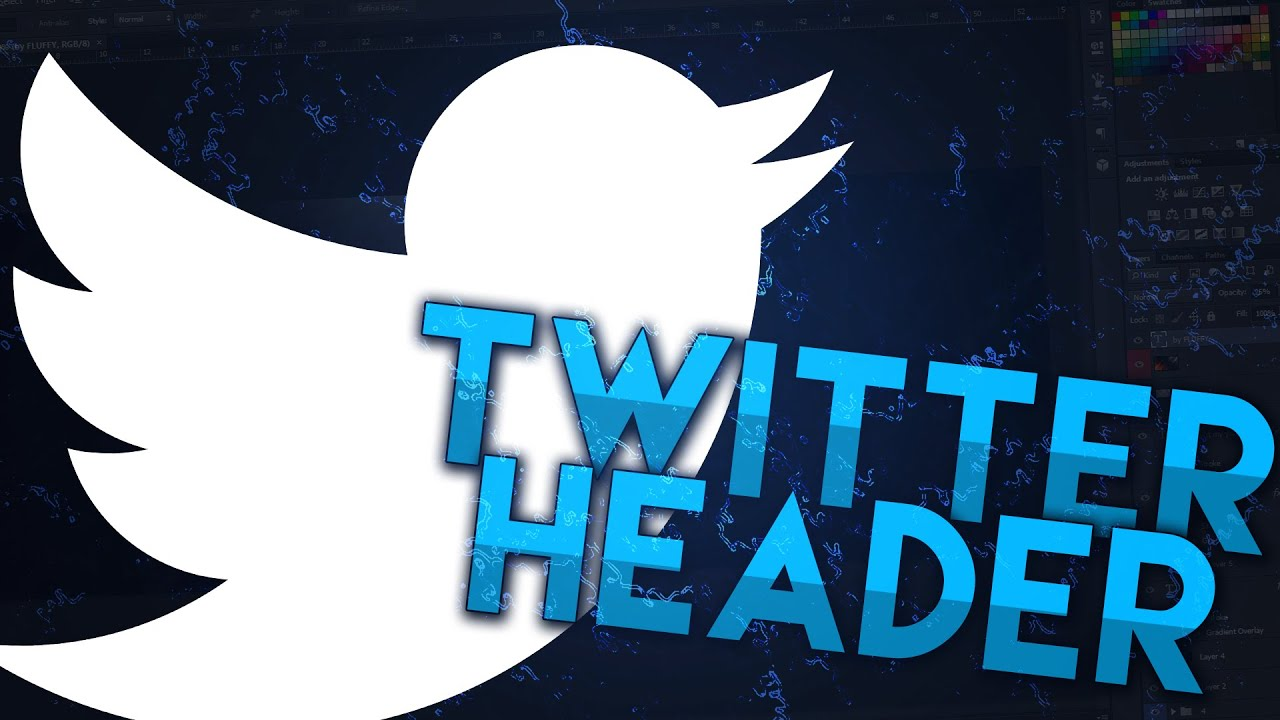FREE] Twitter Header Template (PhotoShop) - YouTube