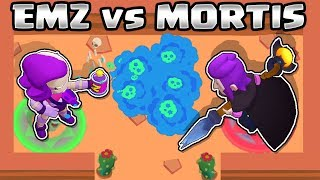 EMZ VS MORTIS | 1vs1 | BRAWL STARS
