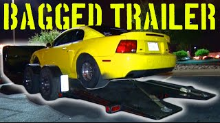 BoostedGT's AIR BAGGED Street Racing Trailer!