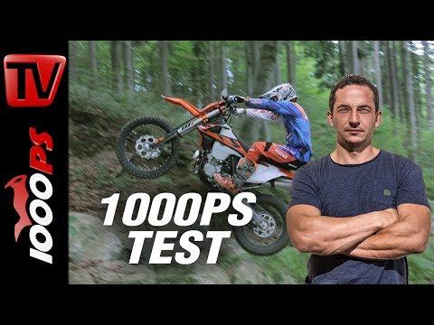 1000PS Test - KTM 300 EXC - Vergleich der Modelljahre '16 '17 '18