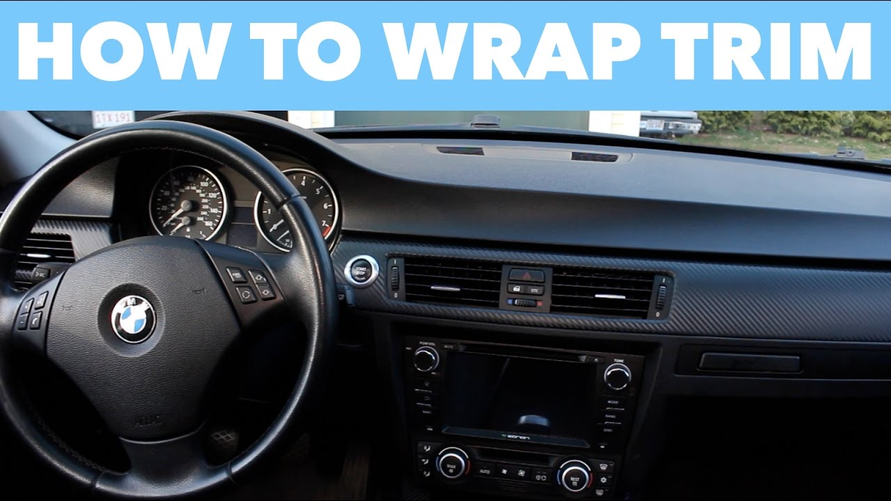 How to Wrap Interior Trim // EASY DIY!
