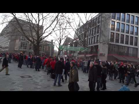 Standard Lüttich Fans in Hannover
