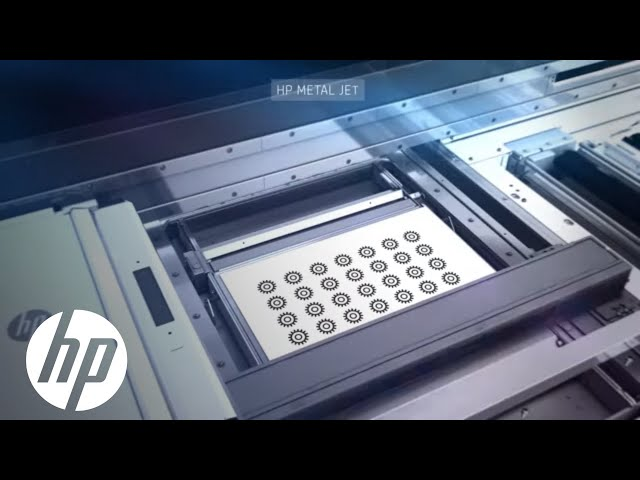 HP launches Metal Jet 3D printing technology for mass production