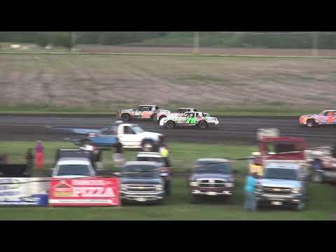 IMCA Hobby Stock Heat 3 Benton County Speedway 6/2/19