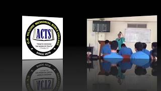 Ministering at Acts Bible School