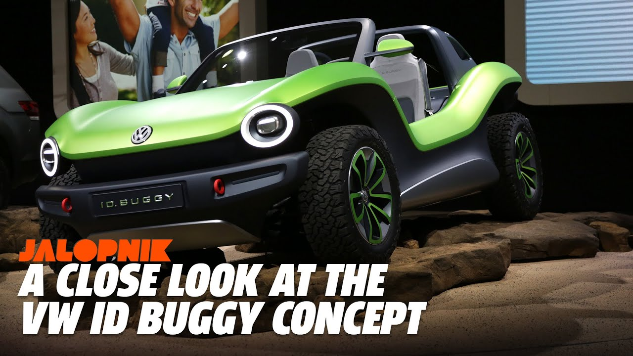 A Close Look At The Volkswagen Electric Id Buggy Concept Youtube