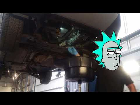 HOW TO CHANGE A FORD POWERSHIFT AUTO GEARBOX TRANSMISSION FLUID