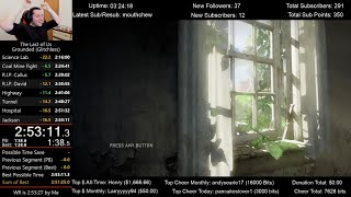 The Last of Us Speedrun World Record! (2:53:11) on Grounded mode (Glitchless)