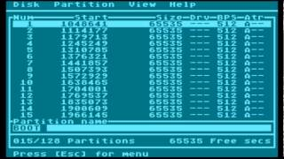 FDISK 4: Part One - Initializing a Disk and Creating a Partition Table
