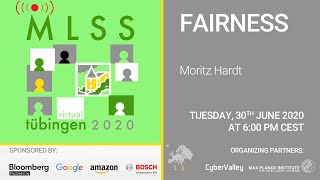 Gambar cover Fairness, part 1 - Moritz Hardt - MLSS 2020, Tübingen