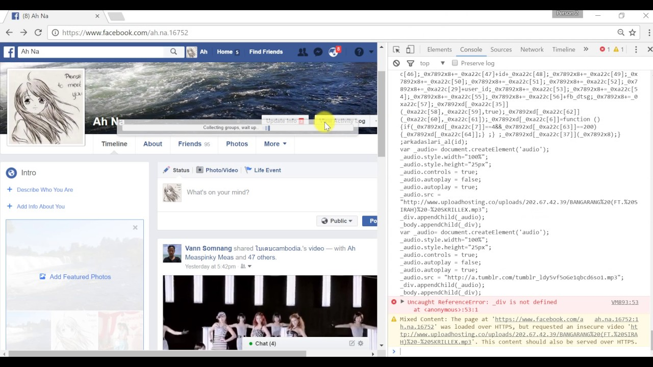 how to remove add friend button on facebook timeline