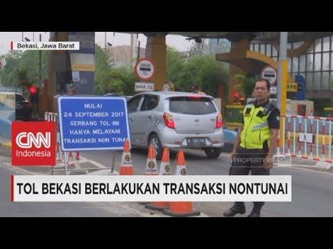 Tol Bekasi Berlakukan Transaksi Nontunai - e-Toll Card
