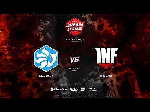 Infamous vs Braxstone - DreamLeague S10 - Game 2