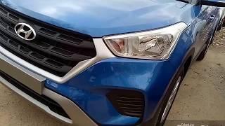 SUV Creta 2018 First Looks | Maraina Blue