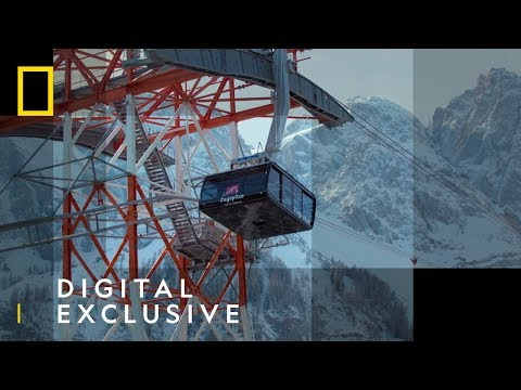 World Record Cable Car in Germany | Europe From Above | National Geographic UK