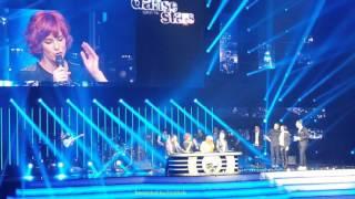 03. Alizée et Grégoire Lyonnet dansent une Rumba sur Christine - Danse + notes DALS 2016 22/01 Paris