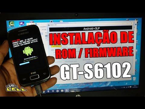 Corrigindo Loop na tela inicial do Samsung Galaxy Y Duos GT-S6102 (Instalação de Rom) #UTICell