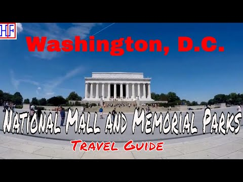 Washington, D.C | National Mall and Memorial Parks | Tourist Attractions | Episode# 14