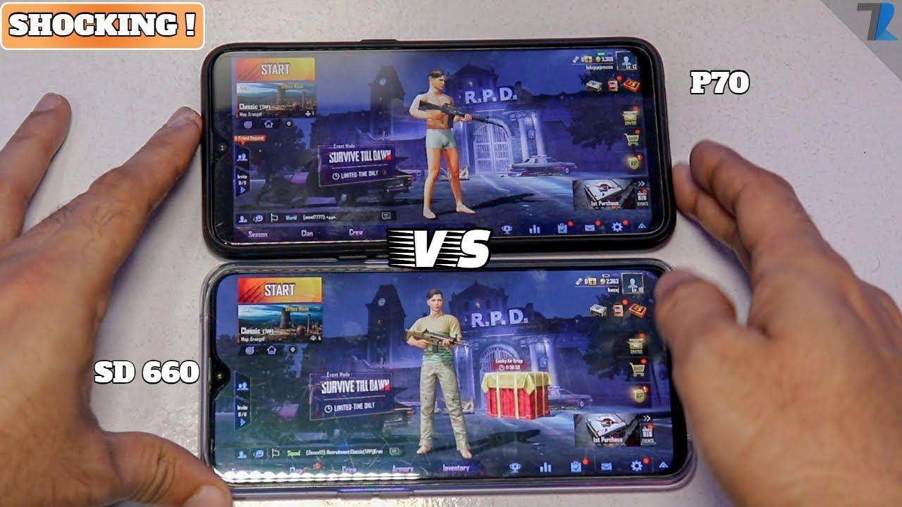 The Best Gaming PUBG Experience | MediaTek Helio P70 vs Snapdragon 660