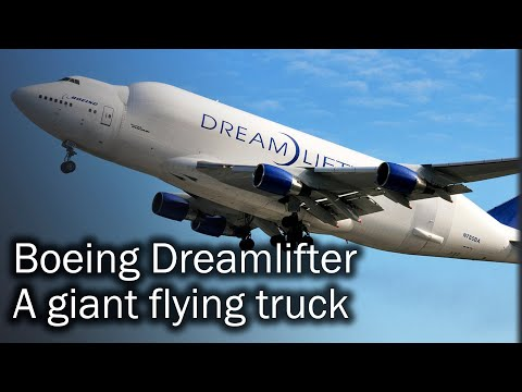 Boeing Dreamlifter - the largest flying freighter. Story and description