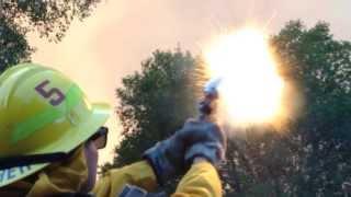Brush Fire Camp Pendleton
