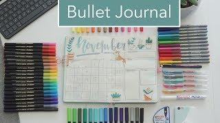Neues Bullet Journal! Setup & Flip Through