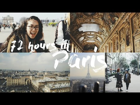 holiday in Paris vlog || 72 hours in France