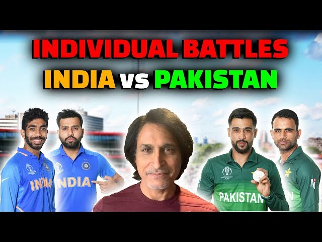 Amir Vs Rohit | Bumrah Vs Fakhar | Pakistan Vs India | Individual Battles