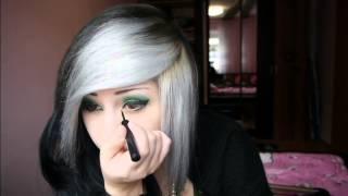 Verena Schizophrenia | Green Apple Makeup Tutorial ♥