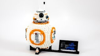 LEGO Star Wars UCS BB-8 (Timelapse & Review) - Set 75187