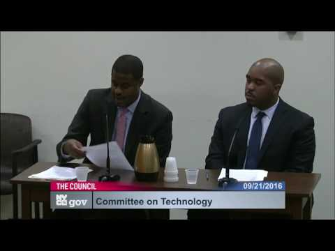 New York City Council Committee on Technology