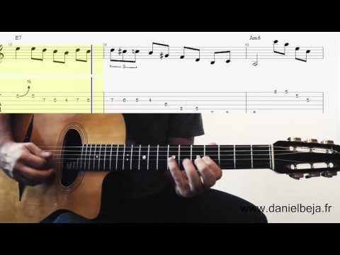 Grappelli Solo on Guitar (Minor Swing)