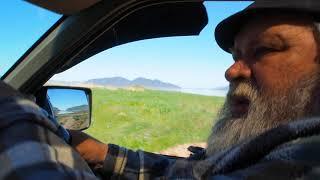 С природы заскочили на море 3 часть поездки с леса на море пенсионера и сына