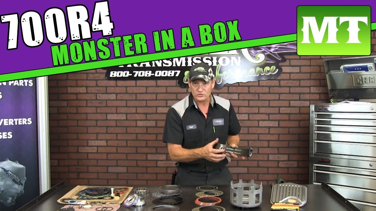 medium resolution of 700r4 complete heavy duty rebuild kit monster in a box monster transmission