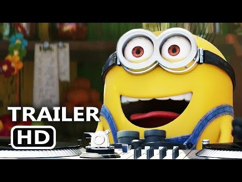 DESPICABLE ME 3 Official Trailer (2017) Minions Animation Movie HD