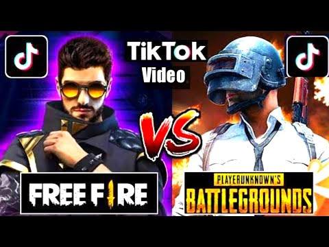 FREE FIRE VS PUBG ||on TIK TOK||part#15||by IGB.hasnain
