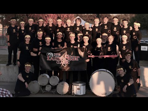 2019 Highland Park Drum Line At Lone Star Classic Drumline Competition