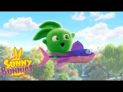 FLYING FISH | SUNNY BUNNIES | Funny Cartoons For Children