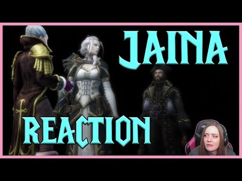 WoW Tearful Reaction: Nightmares & Visions of Jaina Proudmoore.