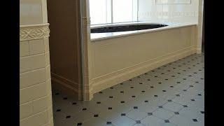 укладка маленькой плитки в ванной комнате, быстро и качественно. ВИП.