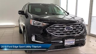 2019 Ford Edge Sport Utility Titanium Carthage  Watertown  Gouverneur  Syracuse  Utica