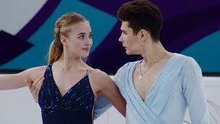 Софья Леонтьева Даниил Горелкин Произвольный танец Гран при по фигурному катанию 2021 22