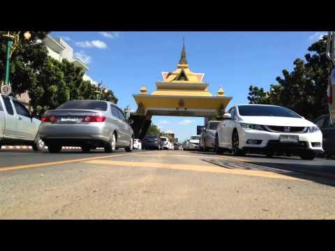 Time-Lapse Testing : Khon Kaen City Gate.